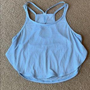 Lululemon Crop Top Singlet blue